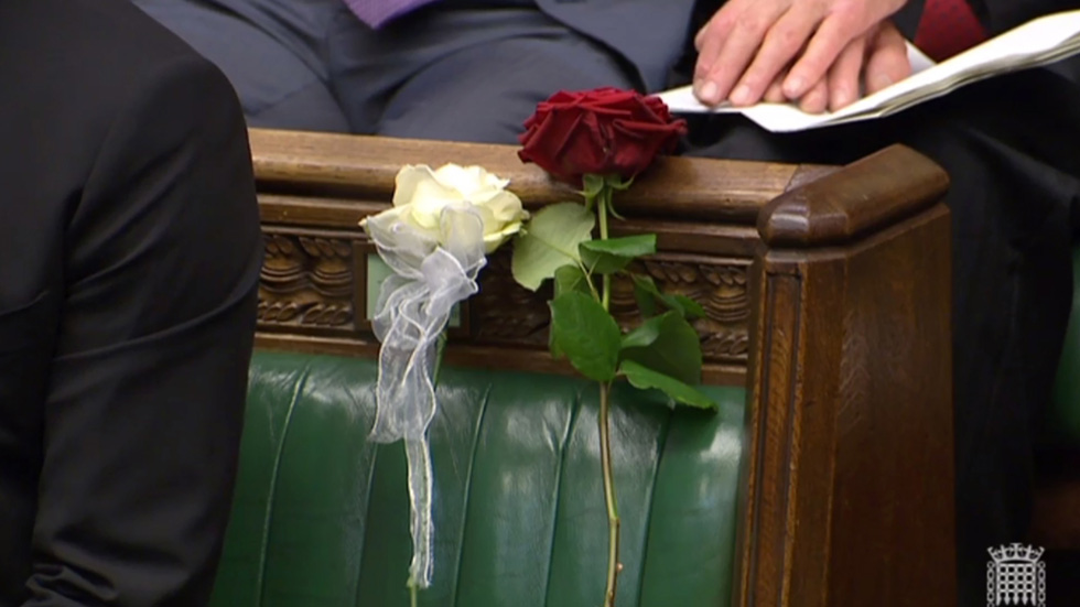 El Parlamento británico rinde homenaje a Jo Cox