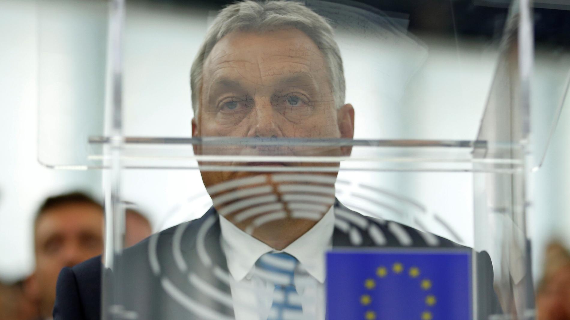 El Parlamento Europeo da luz verde a imponer una sanción histórica a Hungría