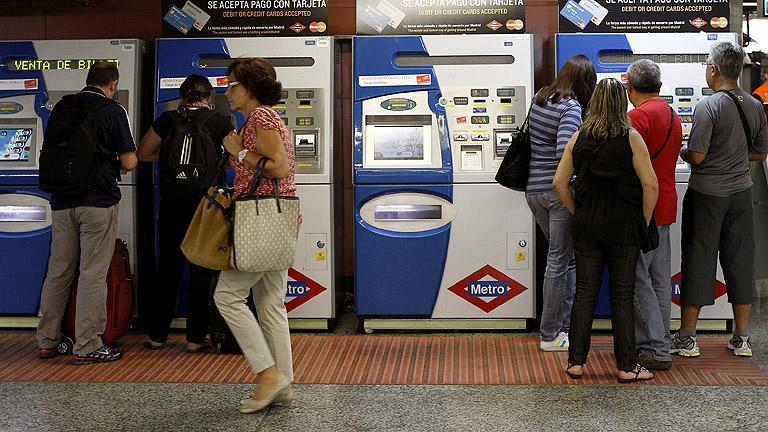 Jornada de paros en el metro y los autobuses urbanos de Madrid