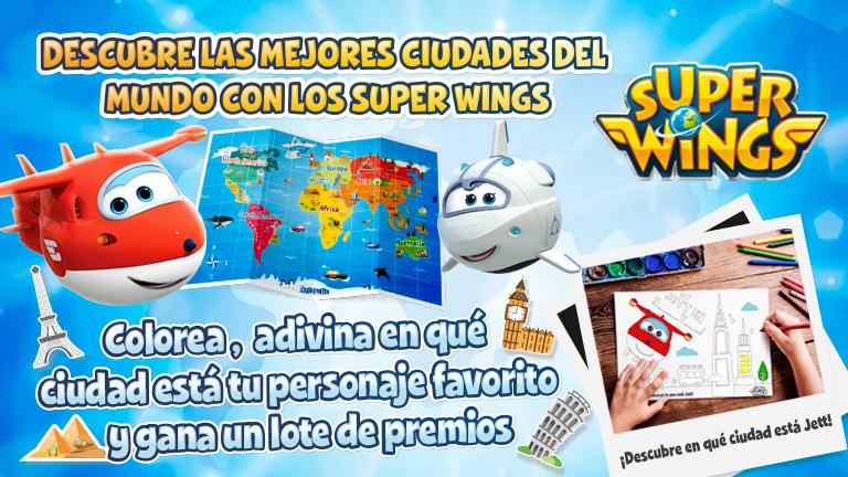 ✖ ¡Participa ya en el nuevo concurso Super Wings y gana fantásticos ...