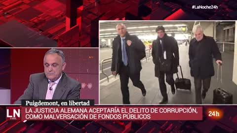 Qué pasa con la acusación de rebelión de Puigdemont tras la decisión de la justicia alemana
