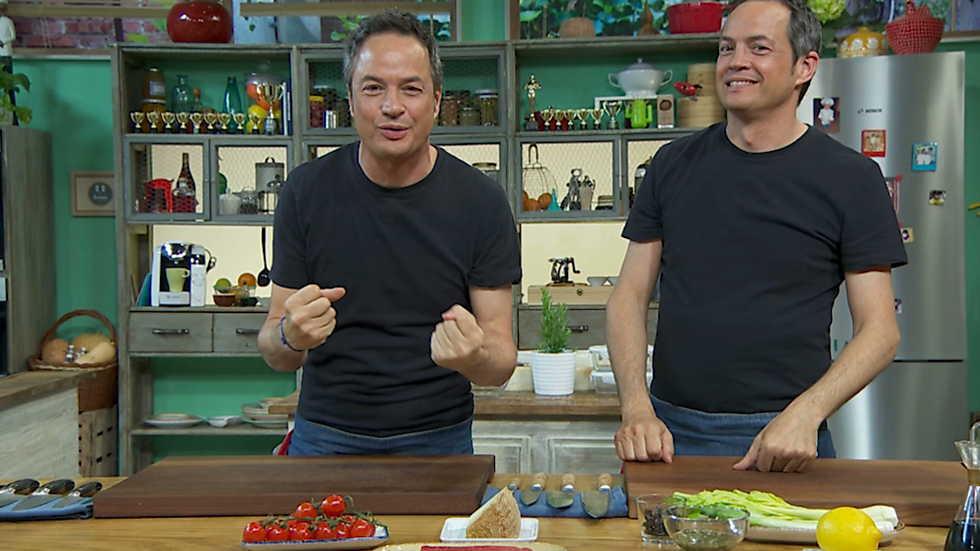 Torres en la cocina - Pasta de verano y picantón