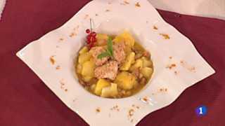 Cocina con Sergio - Patatas al curry con pollo