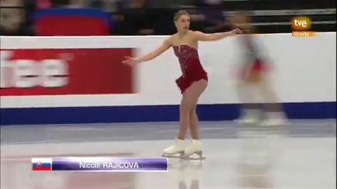 Patinaje Artístico - Campeonato de Europa 2019. Programa Corto Femenino (3)