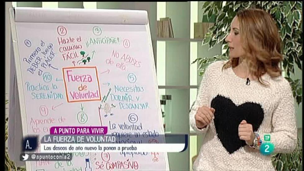 A punto con La 2 - A punto para vivir con Patricia Ramírez: Fuerza de voluntad