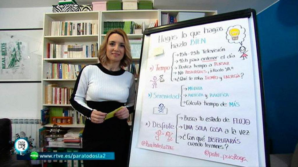 Para Todos La 2 - Patricia Ramírez - Hagamos lo que hagamos, lo hagamos bien