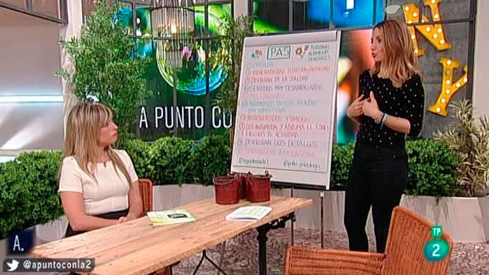 A punto con La 2 - A punto para vivir - Patricia Ramírez- Personas altamente sensibles