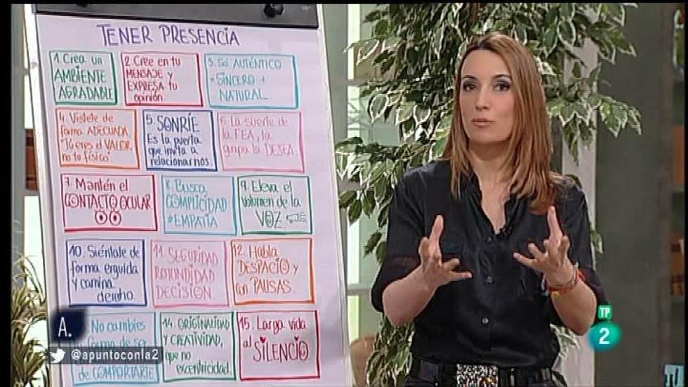 A punto con La 2 - A punto para vivir con Patrícia Ramírez: tener credibilidad