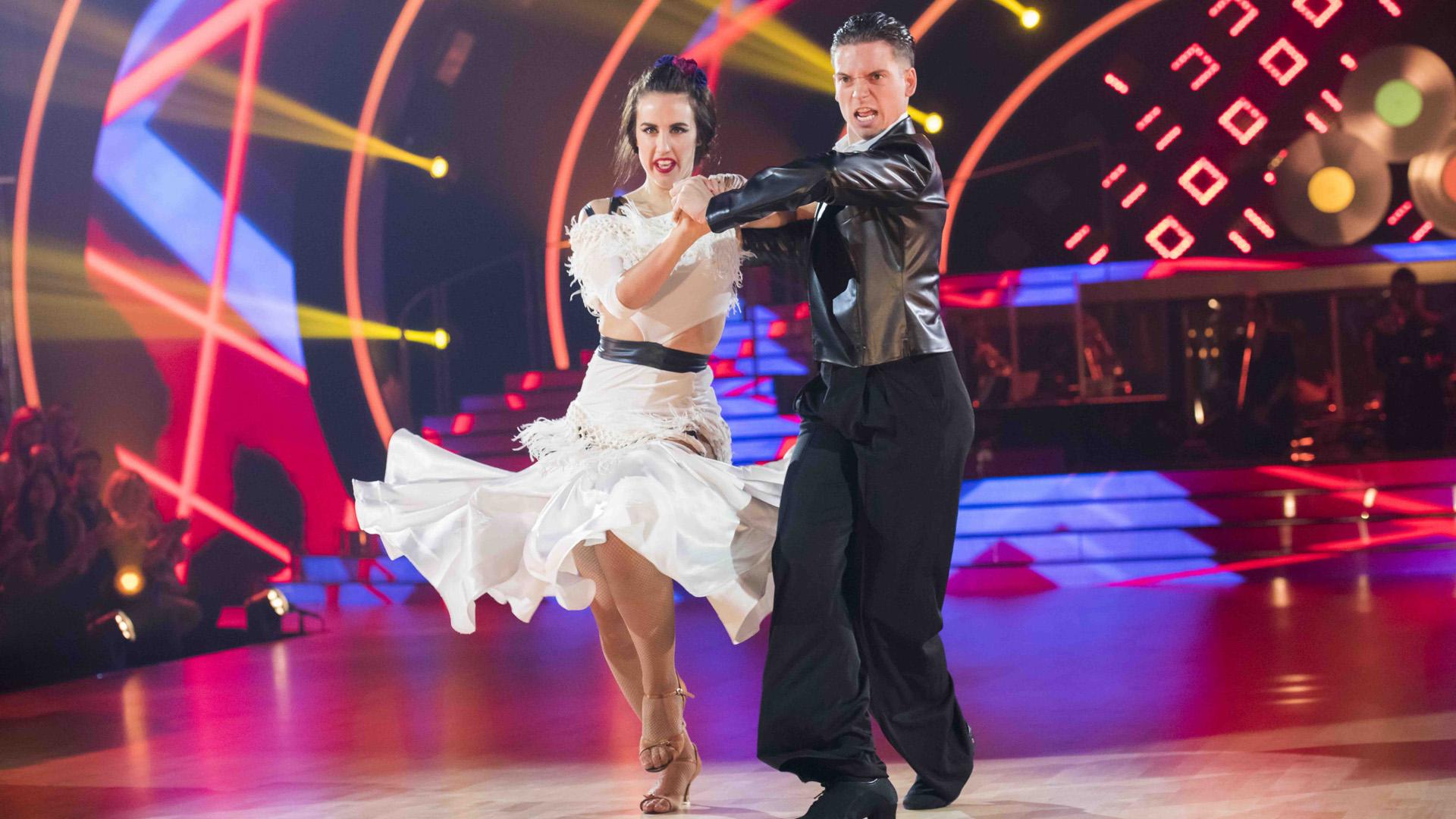 """Bailando con las estrellas - Patry Jordán y Rubén bailan """"Amante bandido"""""""