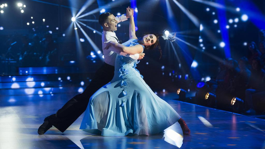 """Bailando con las estrellas - Patry Jordán y Rubén Salvador bailan """"Tu canción"""""""