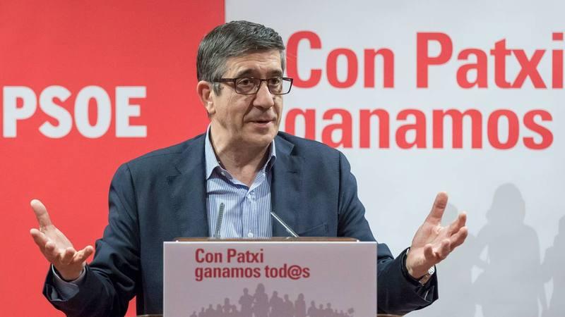 Patxi López, candidato a la Secretaría General del PSOE.