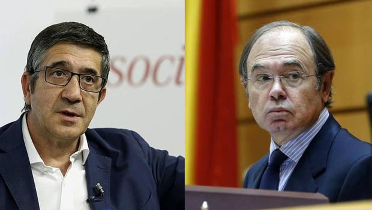 Patxi López y Pio García Escudero
