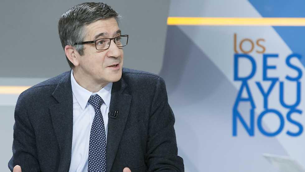 Los desayunos de TVE - Patxi López, candidato a la Secretaría General del PSOE