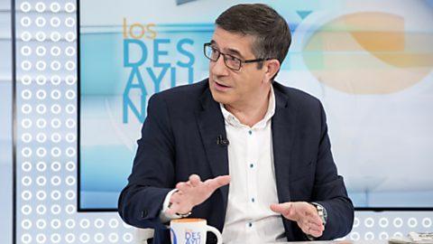 Los desayunos de TVE - Patxi López, Secretario de Política federal del PSOE