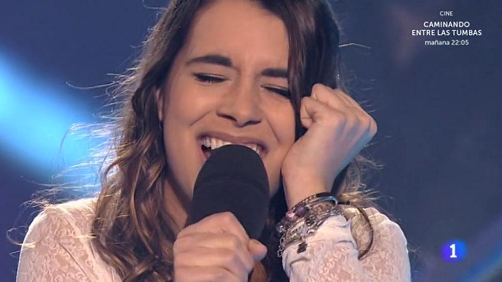 """Objetivo Eurovisión- Paula Rojo canta """"Lo que nunca fue"""" en 'Objetivo Eurovisión'"""