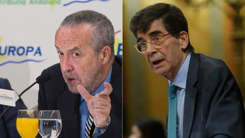 Pedro Arriola y José Enrique Serrano, veteranos asesores políticos de PP y PSOE