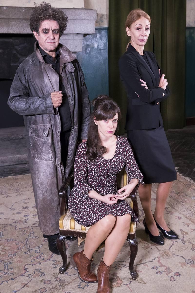 Pedro Casablanc, Itsaso Arana y Elisa Matilla, forman parte del reparto