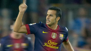 Pedro empata para el Barça (1-1)