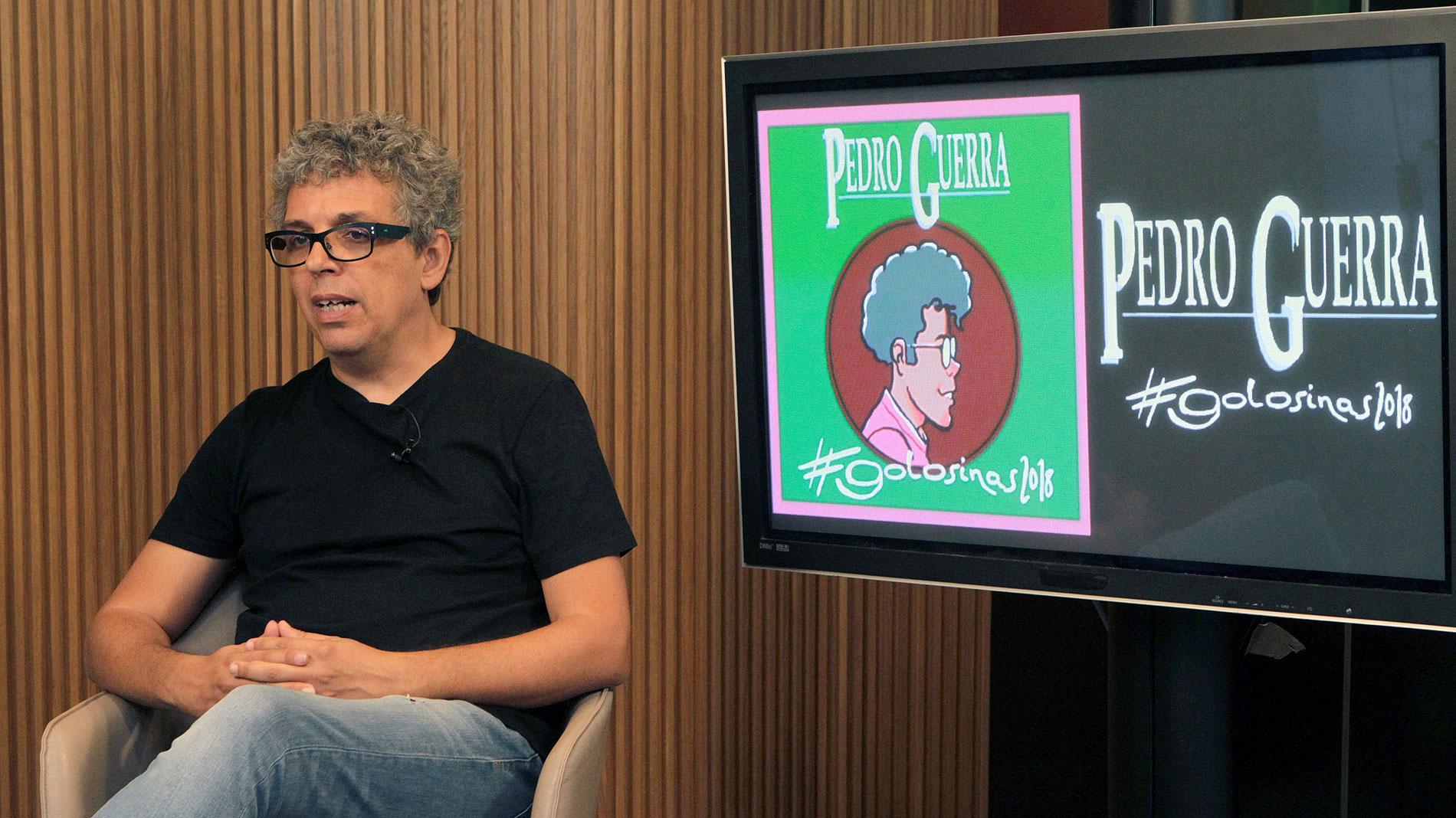 Pedro Guerra celebra sus 25 años en la música con la reedición de 'Golosinas'