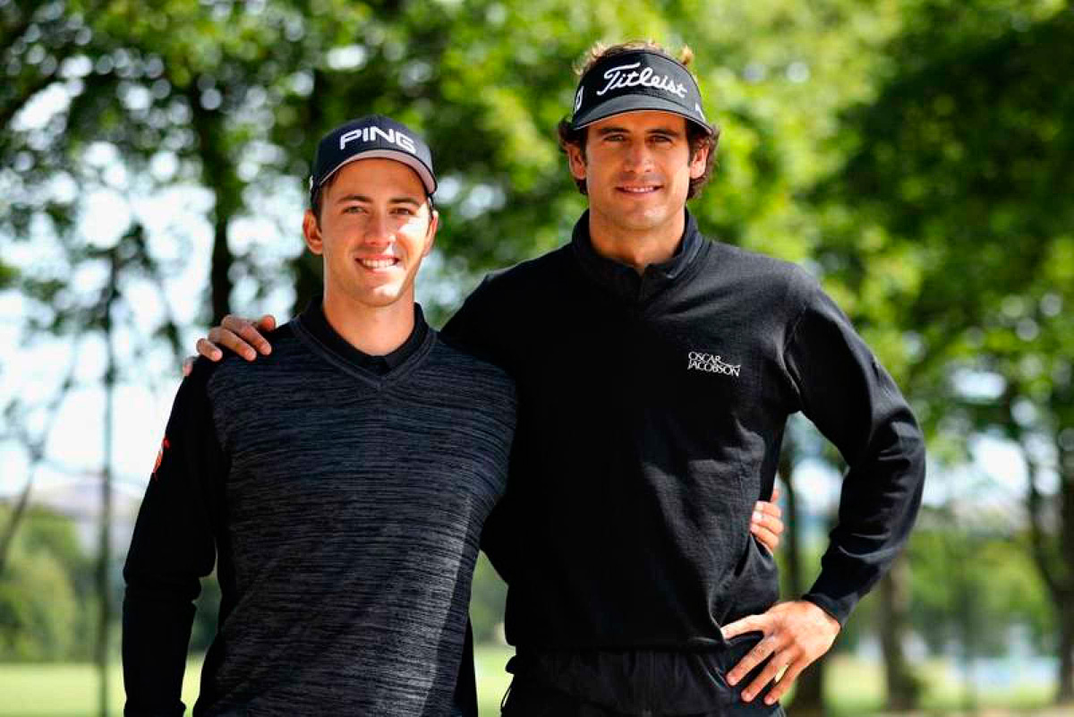 Pedro Oriol y Scott Fernández se llevan el oro en los europeos de golf