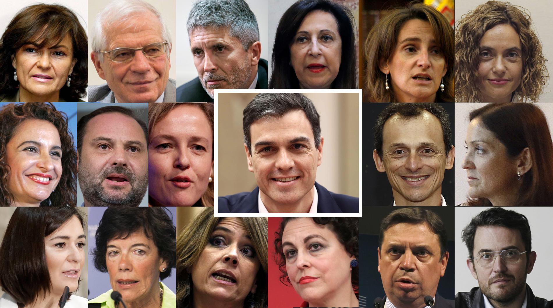 Pedro Sánchez anuncia los nombres de su nuevo Gobierno