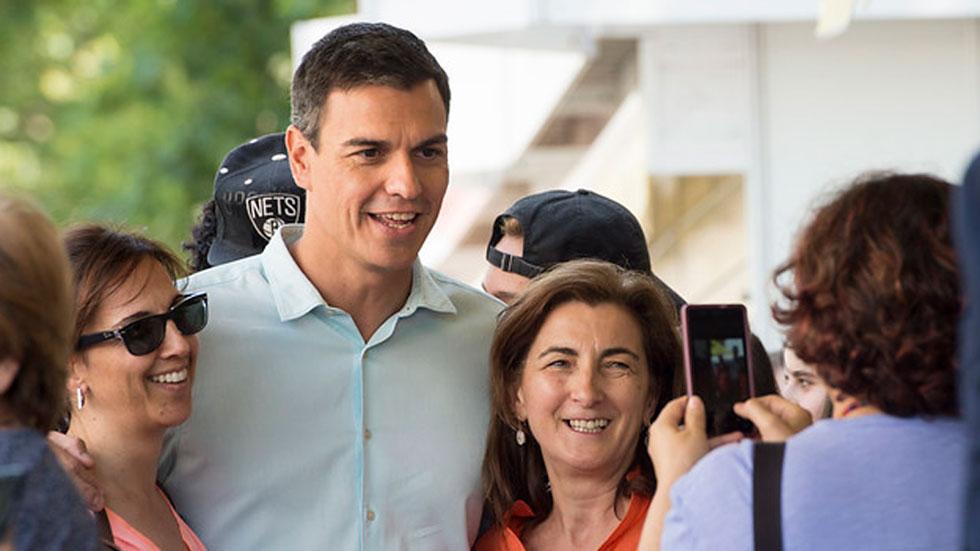 Pedro Sánchez asegura sentirse muy próximo a los votantes de Podemos