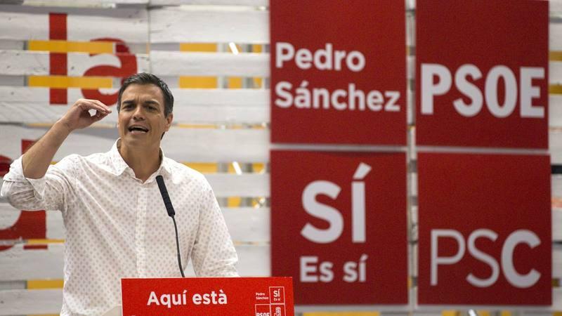 Pedro Sanchez, candidato a la Secretaría General del PSOE.