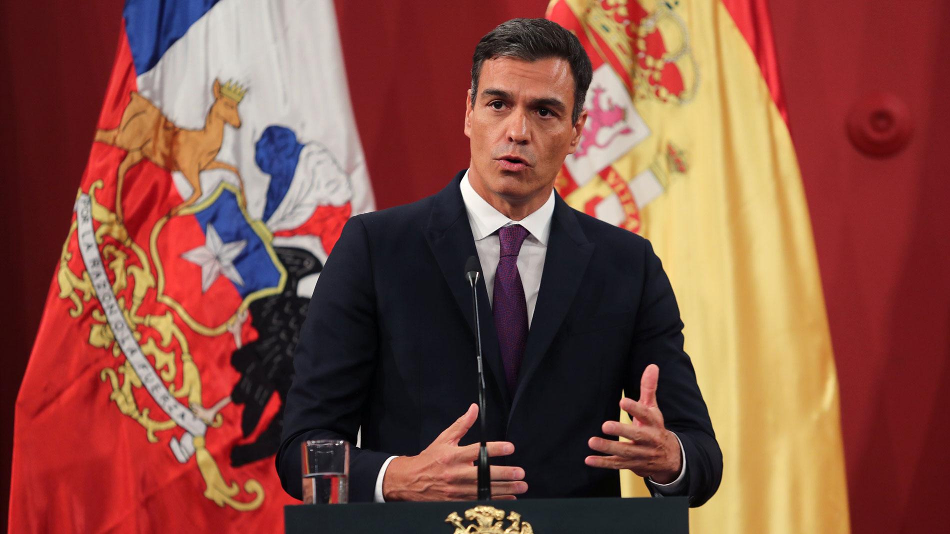"""Pedro Sánchez sostiene que la demanda de Puigdemont contra Llarena """"no es una cuestión privada, sino de Estado"""""""