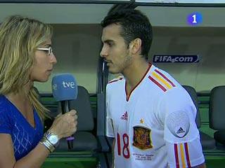 """Ver vídeo  'Pedro:""""Del Bosque es un grandísimo entrenador""""'"""