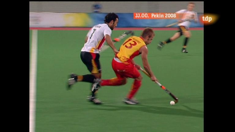 Londres en juego - Pekín 2008 - Hockey hierba. España-Alemania