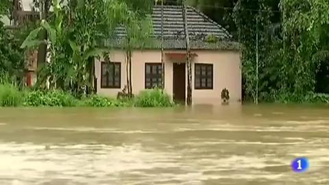 Las peores inundaciones del último siglo en la India