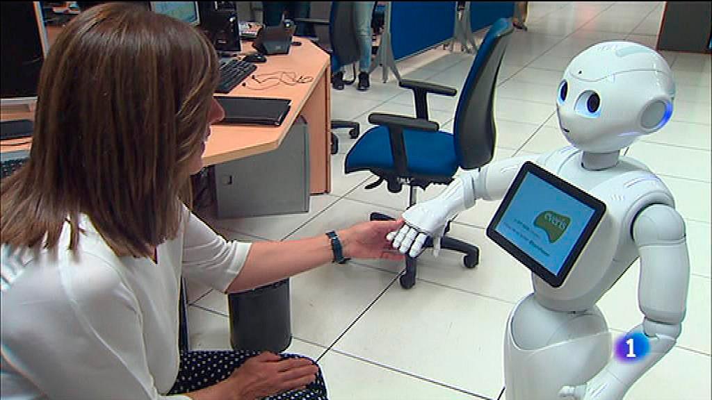 'Pepper', un robot humanoide que puede ser guía, dependiente, recepcionista...