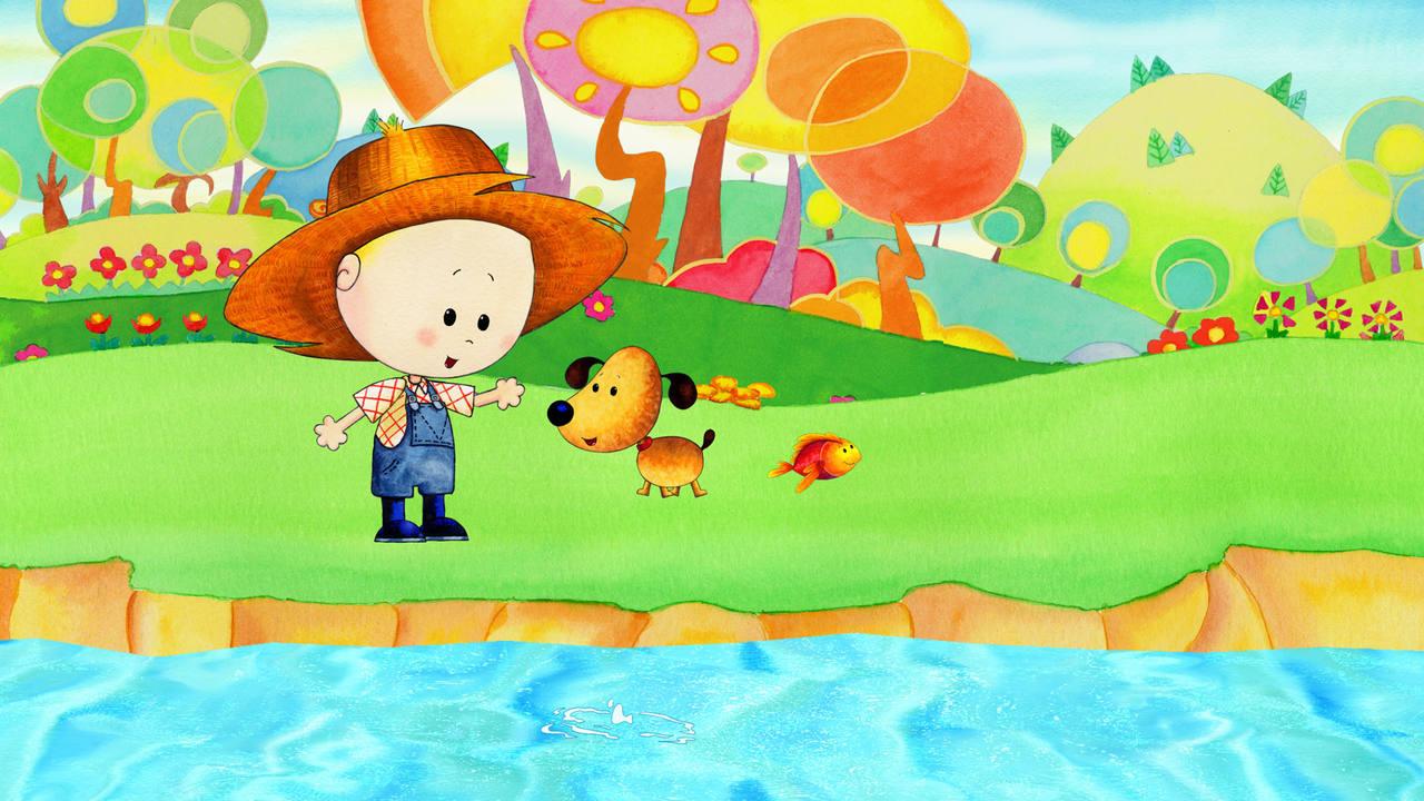 El pequeño Dougui se disfrazará cada día de un personaje diferente y vivirá sus aventuras junto a su perrito Tim