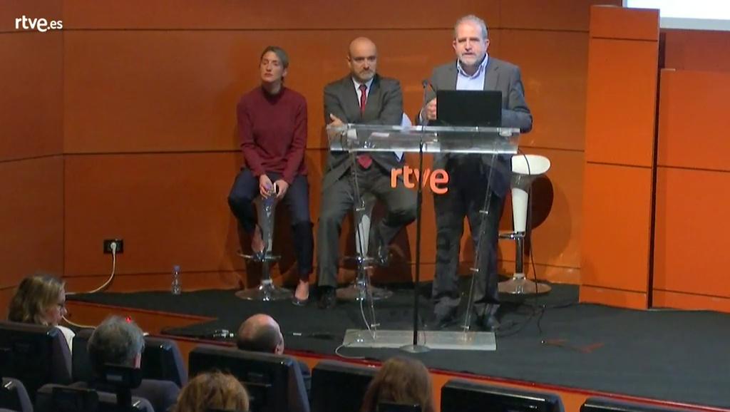 Pere Vila, Jara Abella y Antonio Hernández