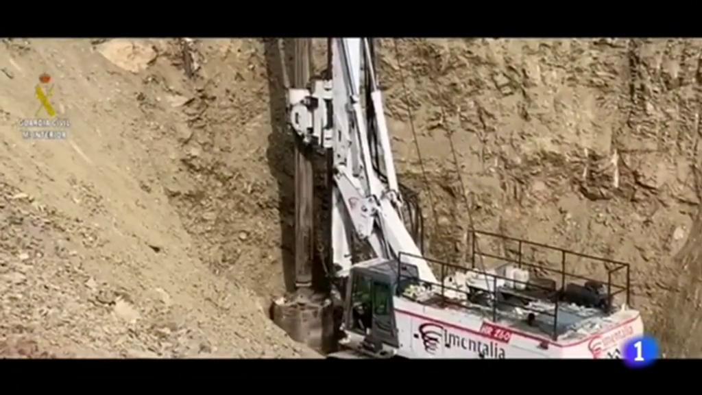 La perforadora ha recorrido 20 de los 60 metros que se ha marcado