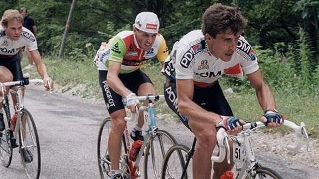 Perico rozó la gloria del Tour en 1987