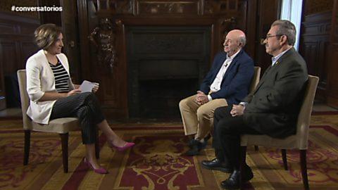 """Conversatorios en Casa de América - """"Peridis"""" y Arcadio Esquivel"""