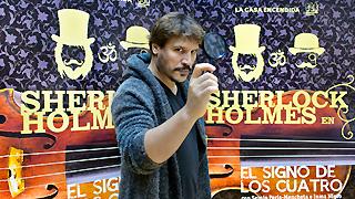 """Ficción sonora - Sergio Peris-Mencheta: """"Benedict Cumberbatch es un crack como Sherlock Holmes"""""""