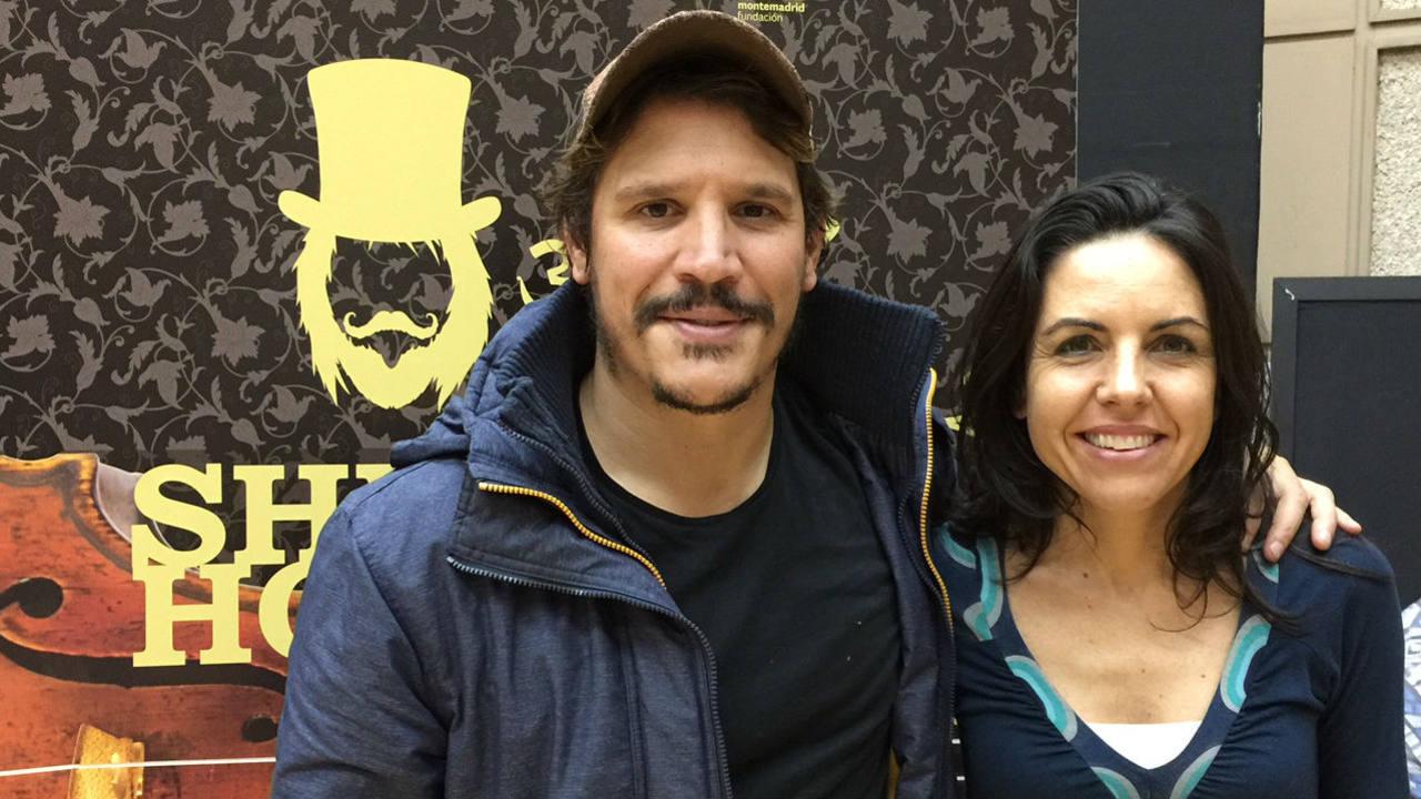 Peris-Mencheta con Paloma Arranz, directora de 'Abierto hasta las 2'