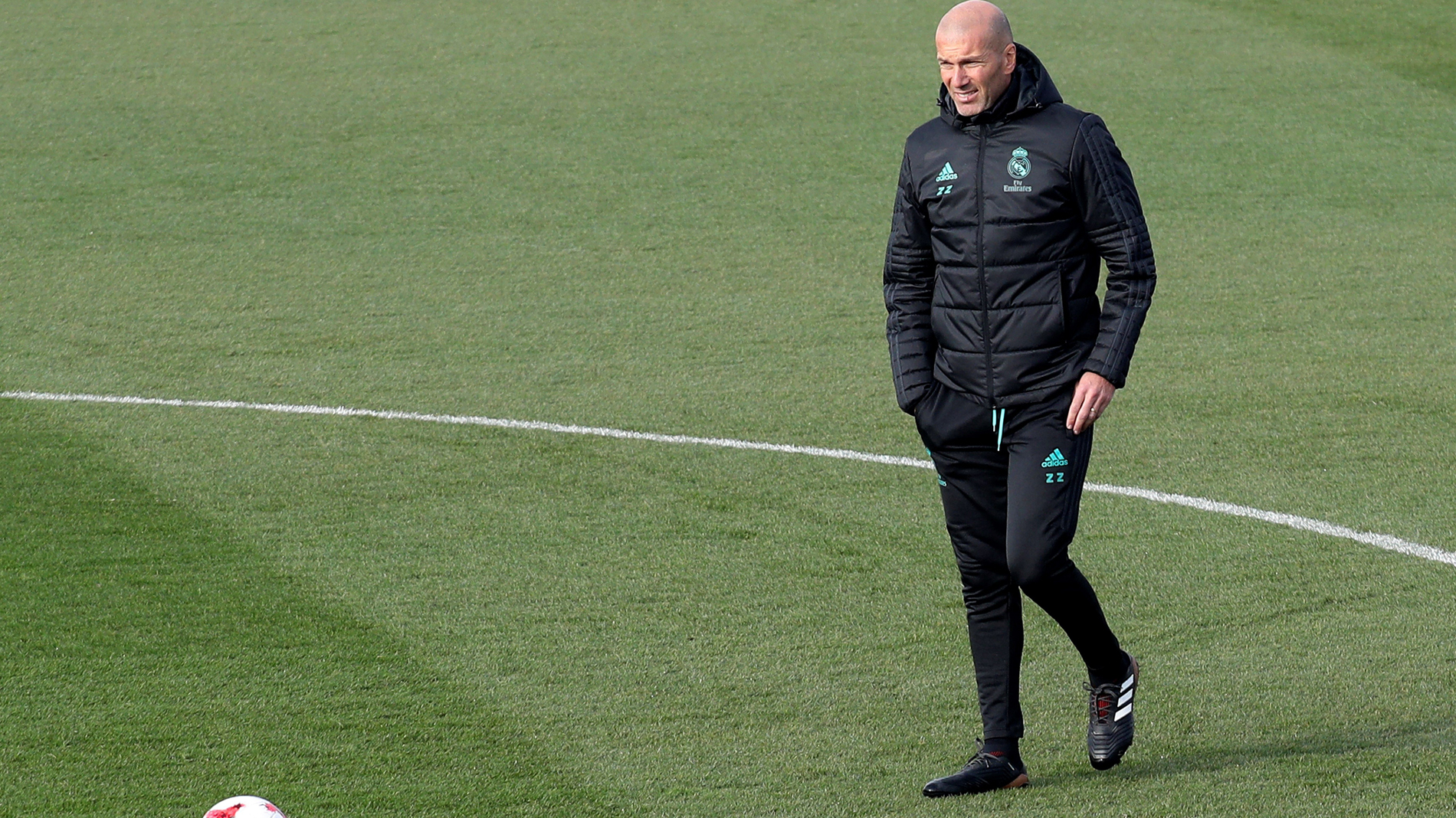 """¿Qué pide Zidane a los Reyes?: """"Salud. Ni un portero ni un delantero""""."""