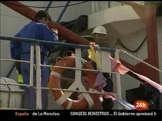 Ir al Video Pierden el contacto con el barco irlandés que  intenta llegar a Gaza