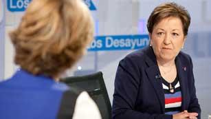 Los desayunos de TVE - Pilar Farjas, secretaria general de Sanidad y Consumo