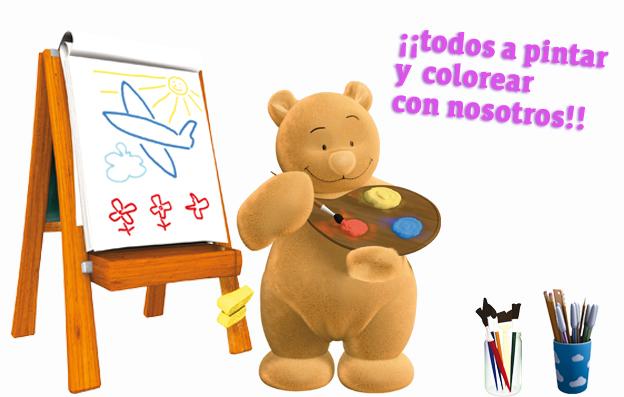 Dibujos para pintar en la web de Clan