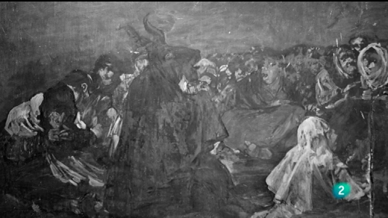 La mitad invisible - Las pinturas negras, de Francisco de Goya