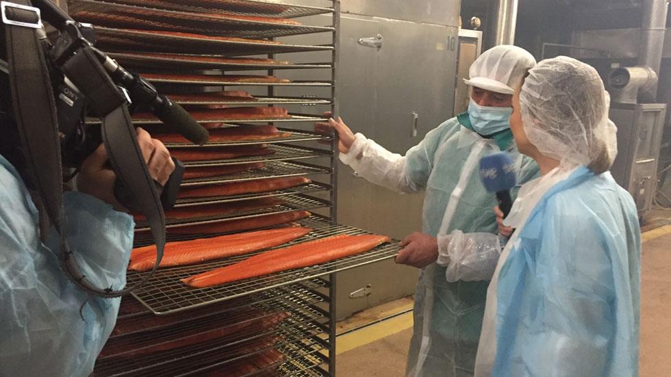 España Directo- Pioneros en salmón ahumado