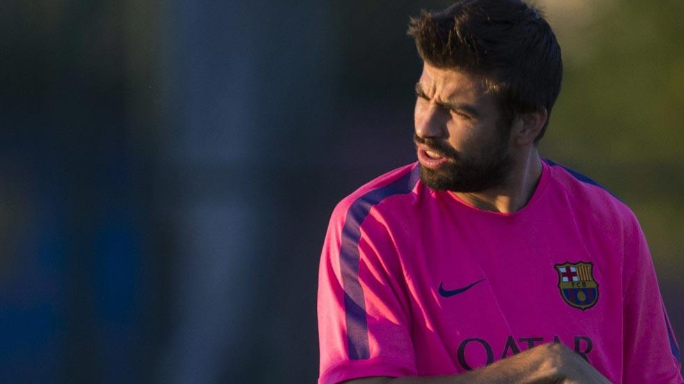"""Piqué a Alves: """"Tienes muchos enemigos aquí, te pasa como a mí"""""""