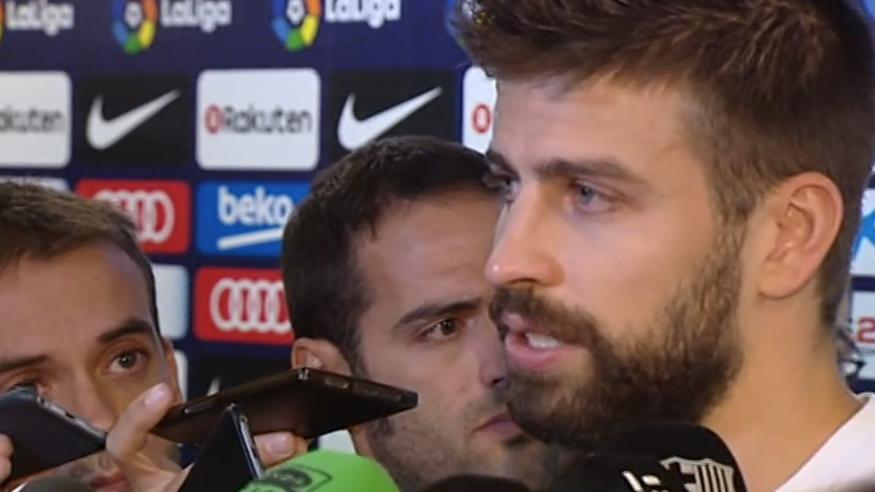 """Piqué, entre lágrimas: """"Si soy un problema, dejo la selección"""""""