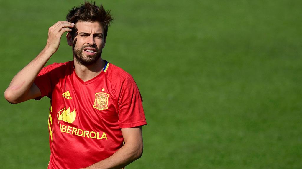 """Piqué: Lo mejor es quedarme en la selección y afrontar este reto"""""""