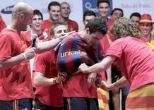 El F.C. Barcelona tiene dinero...