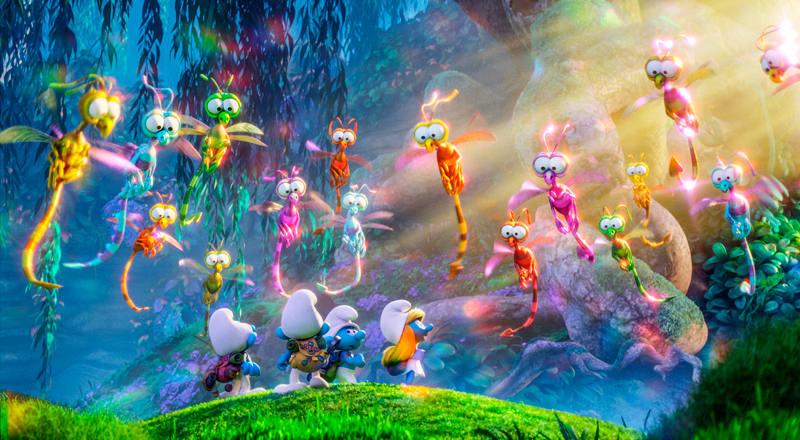 Los pitufos descubrirán un nuevo mundo lleno de criaturas alucinantes